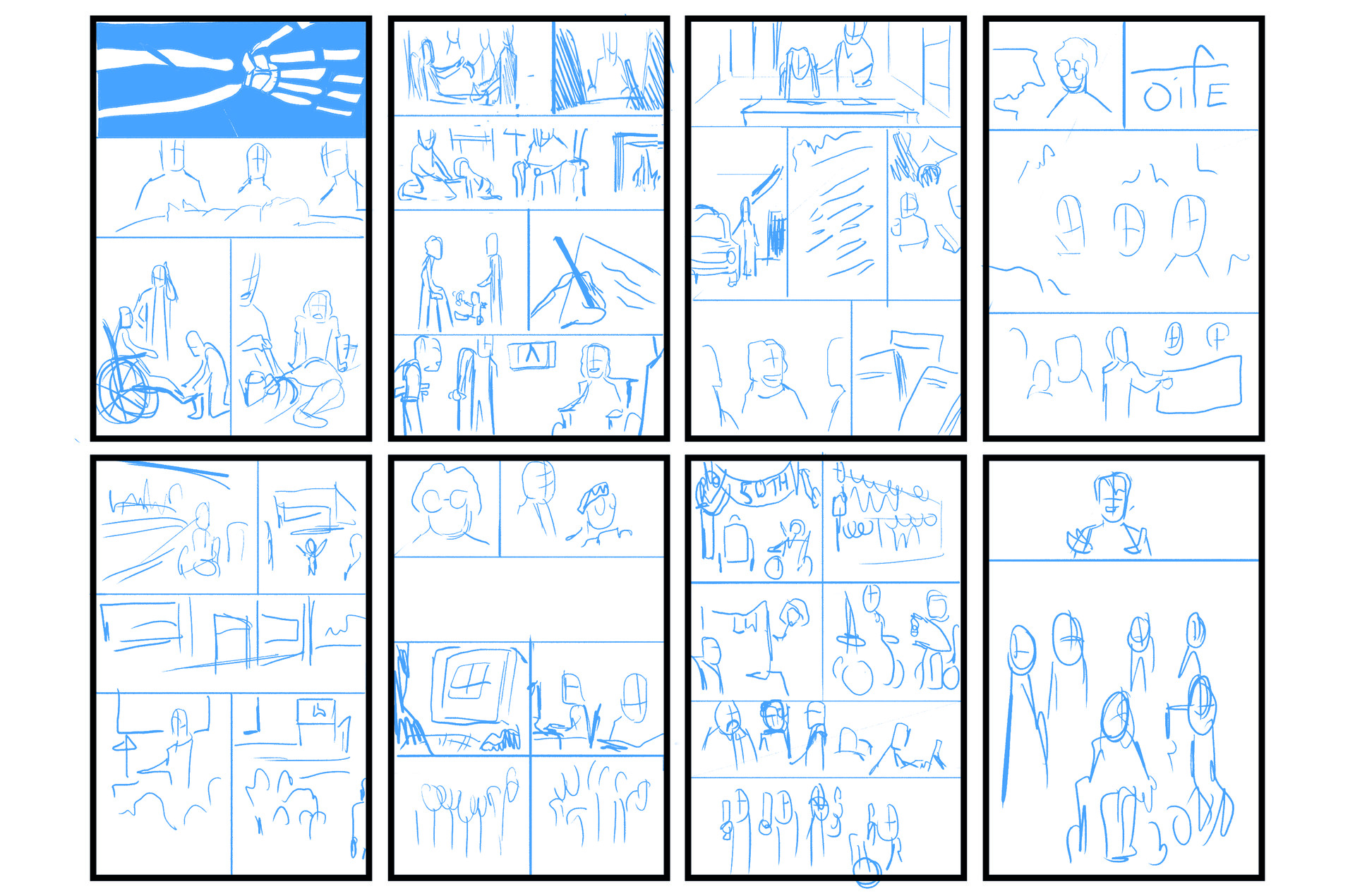 Story 1 - Roughs.