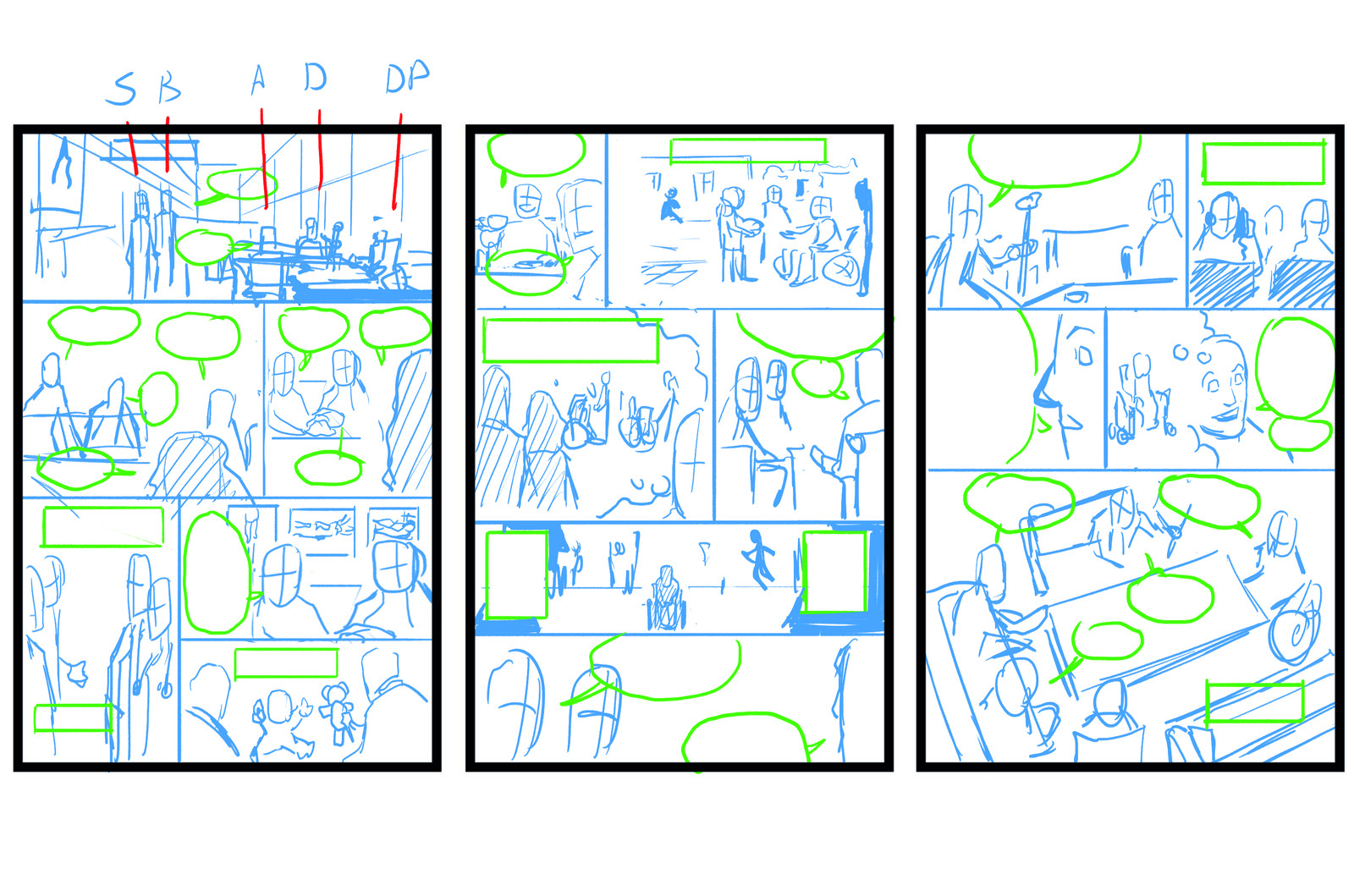 Story 2 - Roughs
