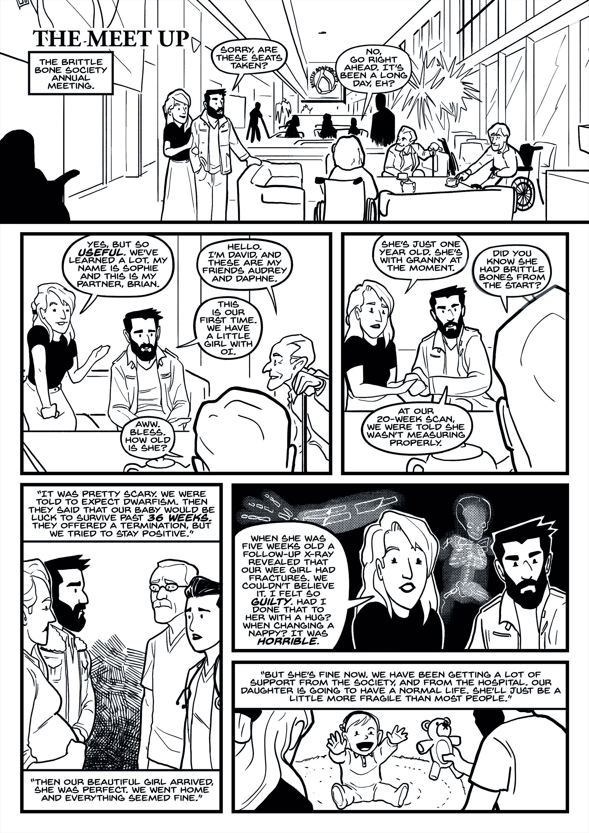 Story 2 - Page 1 Inks