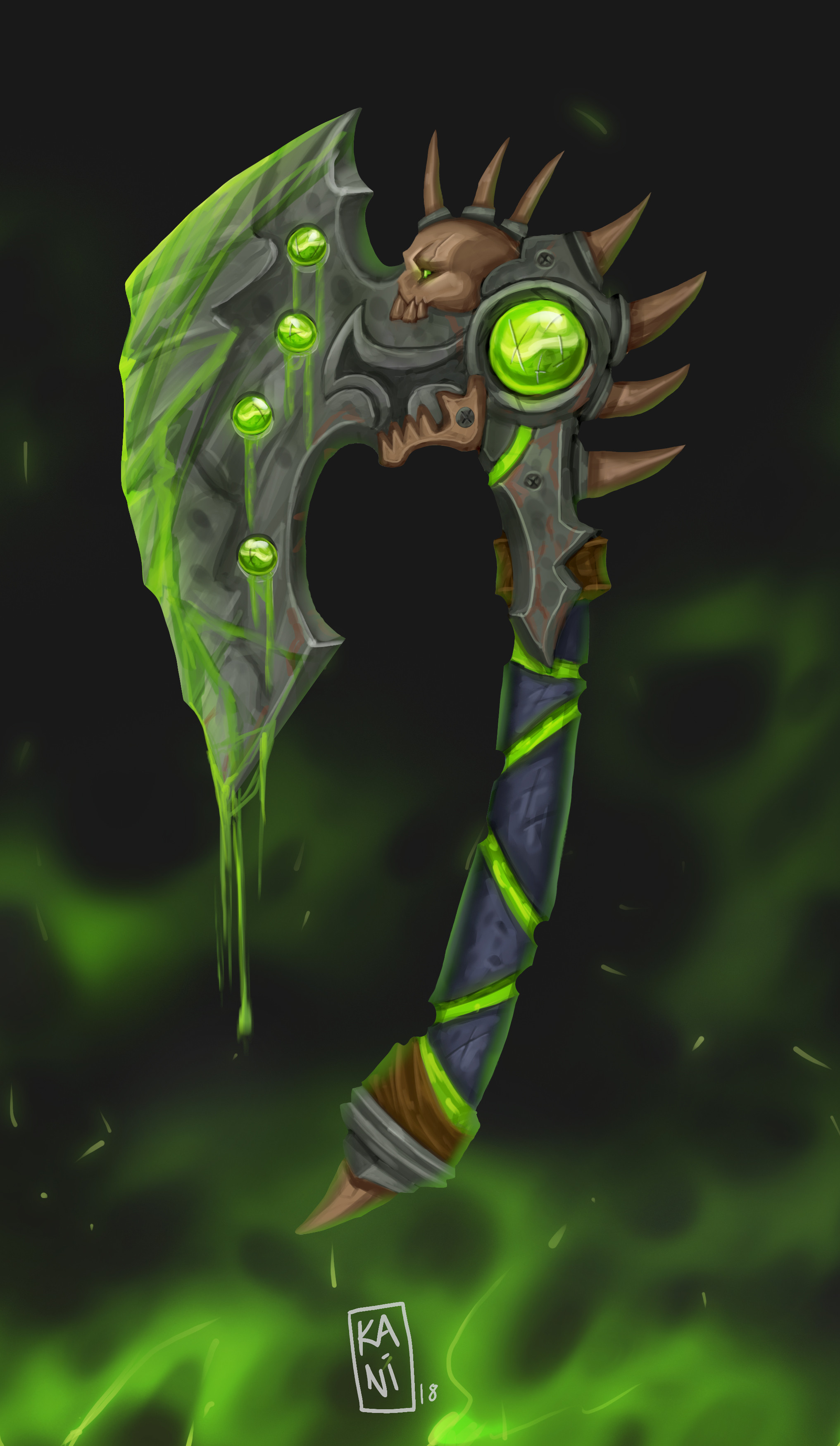War Axe of the Lord Venom