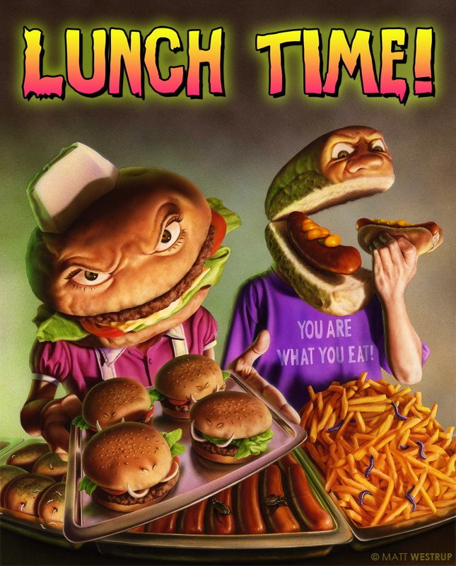 Character ark schools out lunch time