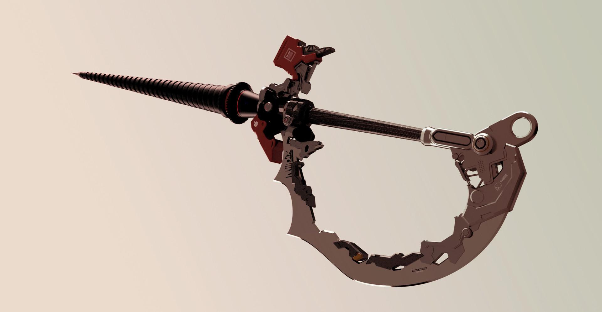 Milpix drillspike