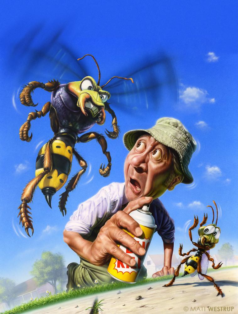 Character ark bug man