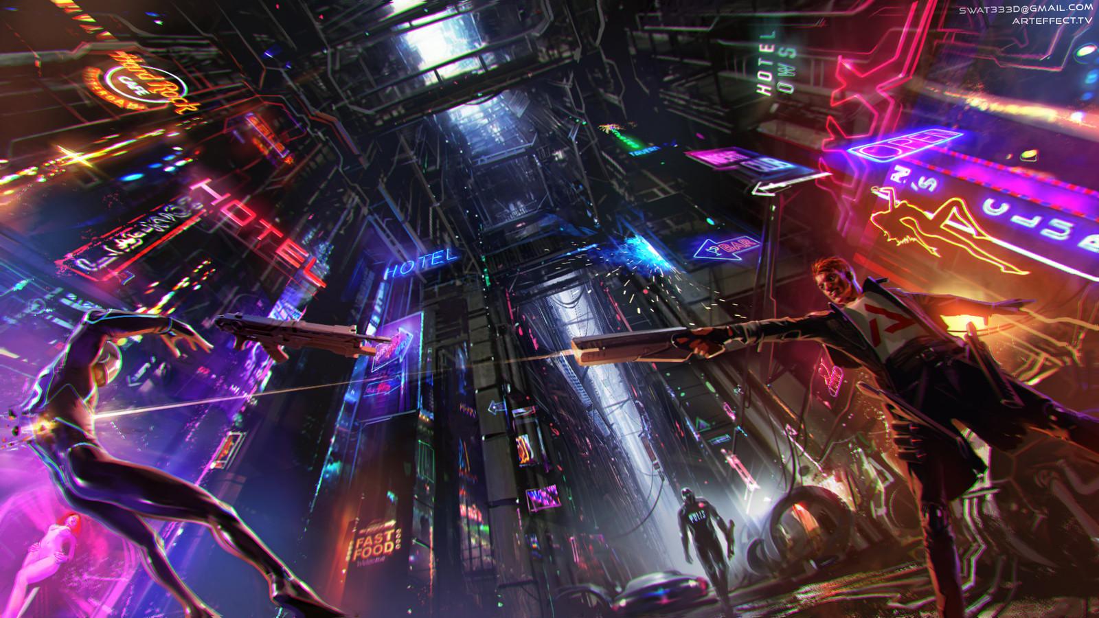 Cyberpunk Game