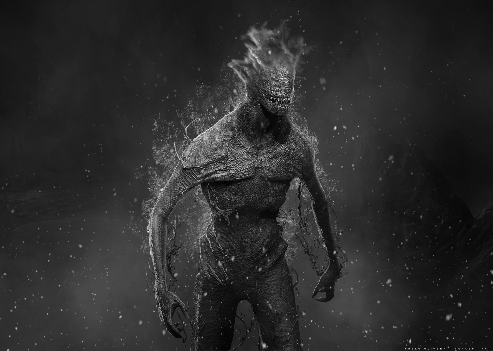 Creature Design for Uncanny Valley ( Sci-Fi short film )