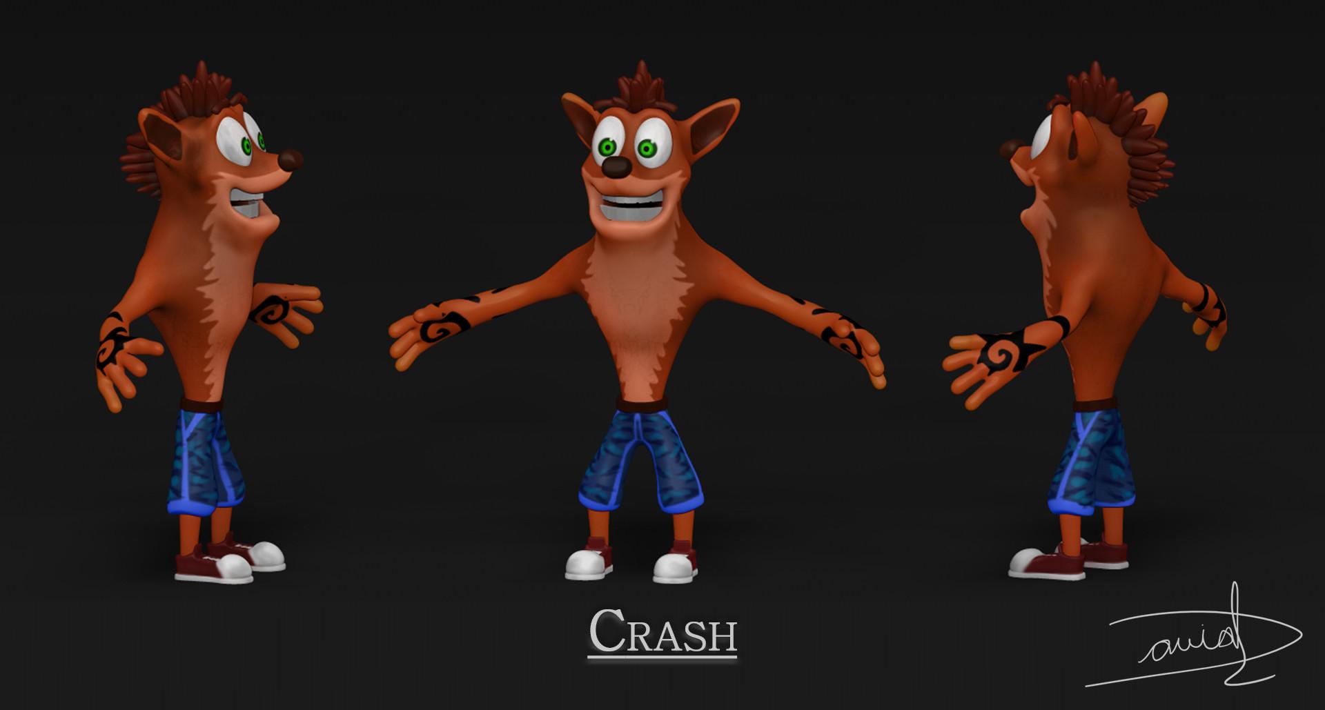 Artstation Crash Bandicoot Concept Art David Chaparro Romero