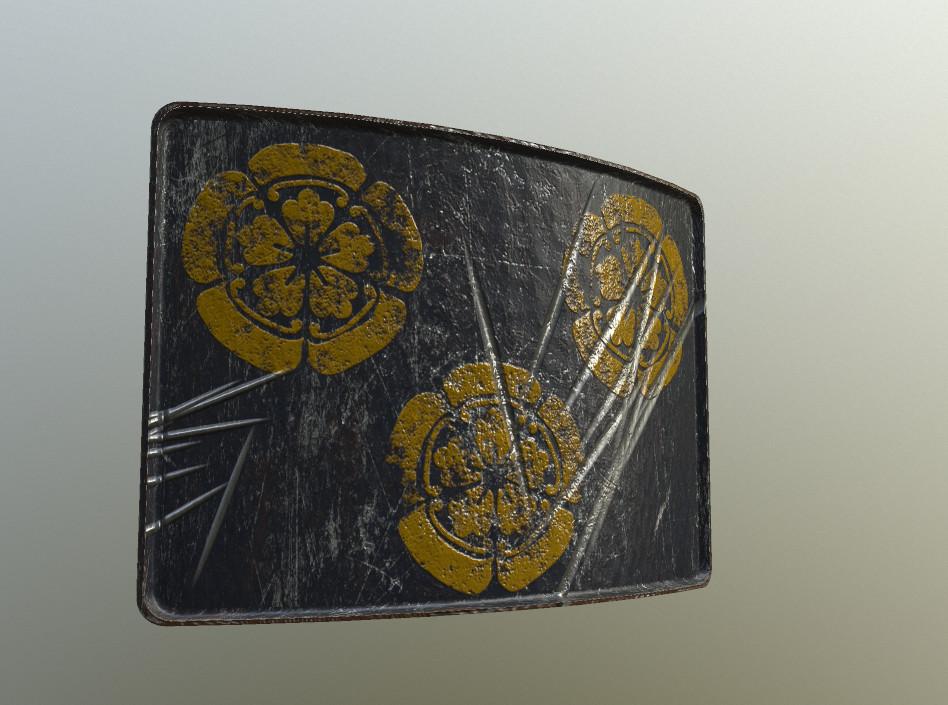Samurai Armor Plate