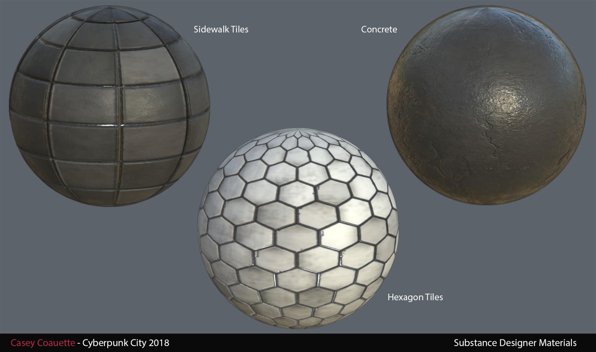Substance Designer Materials