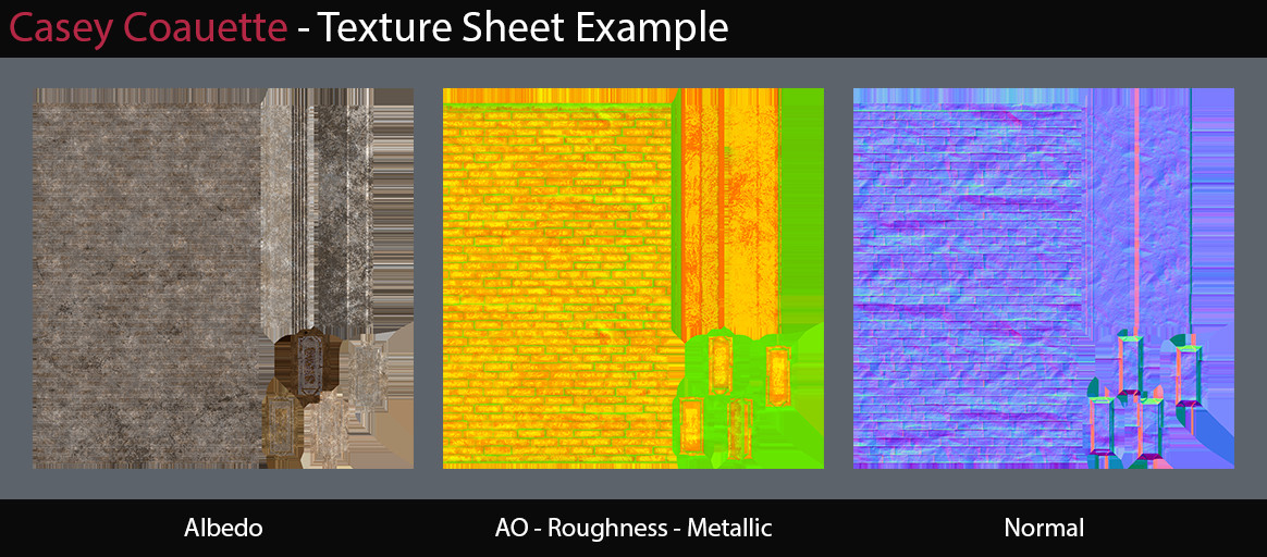 Texture sheet example.
