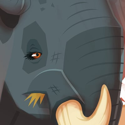 Lou catanzaro elephant