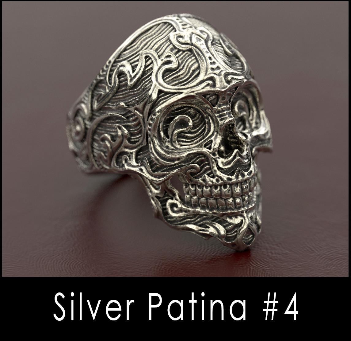 Nacho riesco gostanza silver patina n4