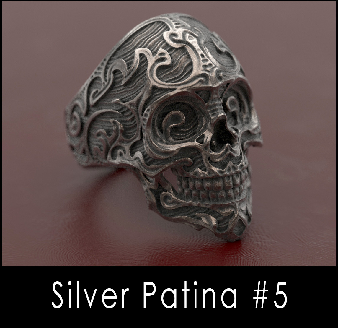 Nacho riesco gostanza silver patina n5