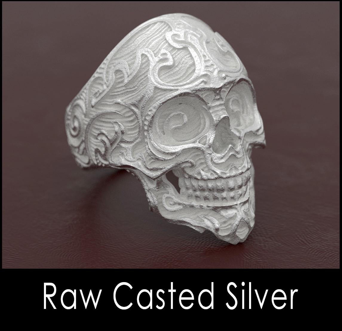 Nacho riesco gostanza raw casted silver