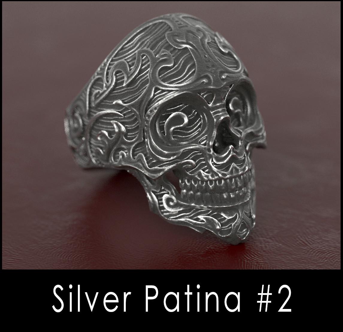 Nacho riesco gostanza silver patina n2