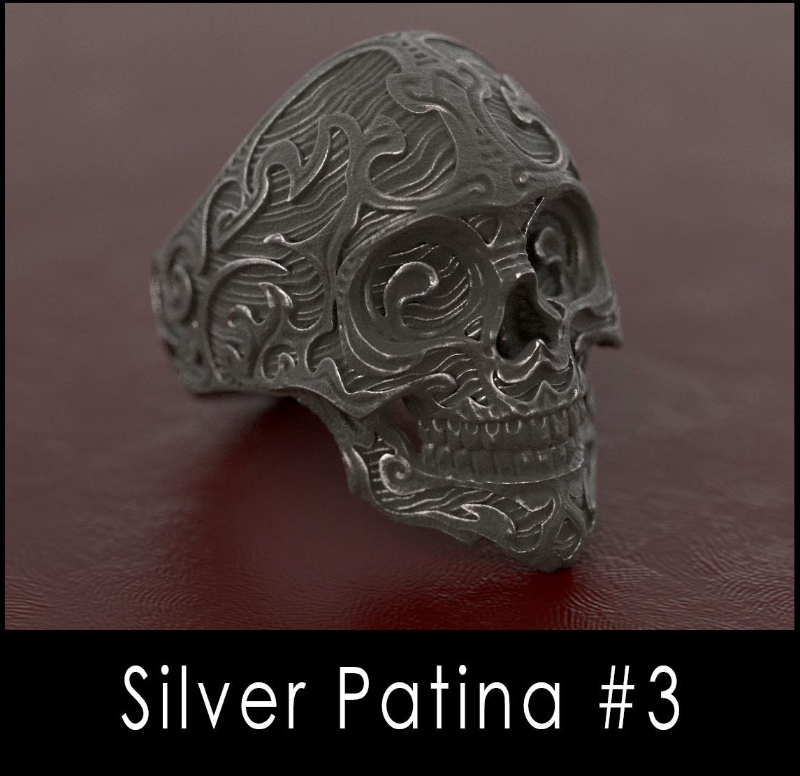 Nacho riesco gostanza silver patina n3