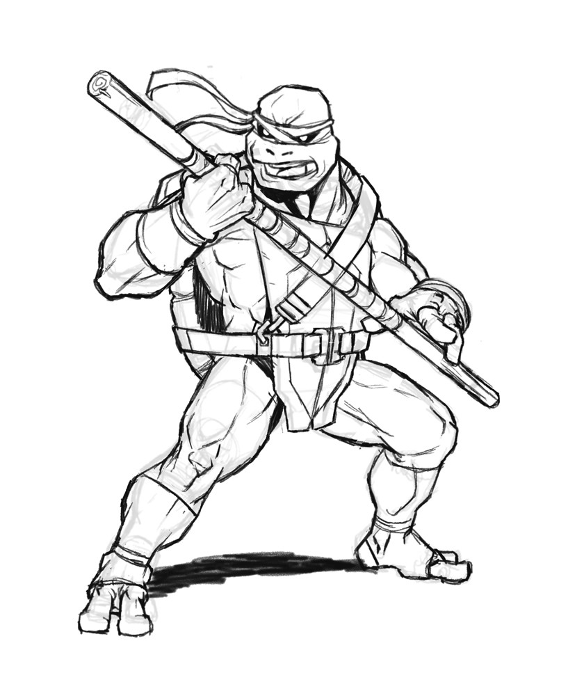 Paulo peres donatello sketch2