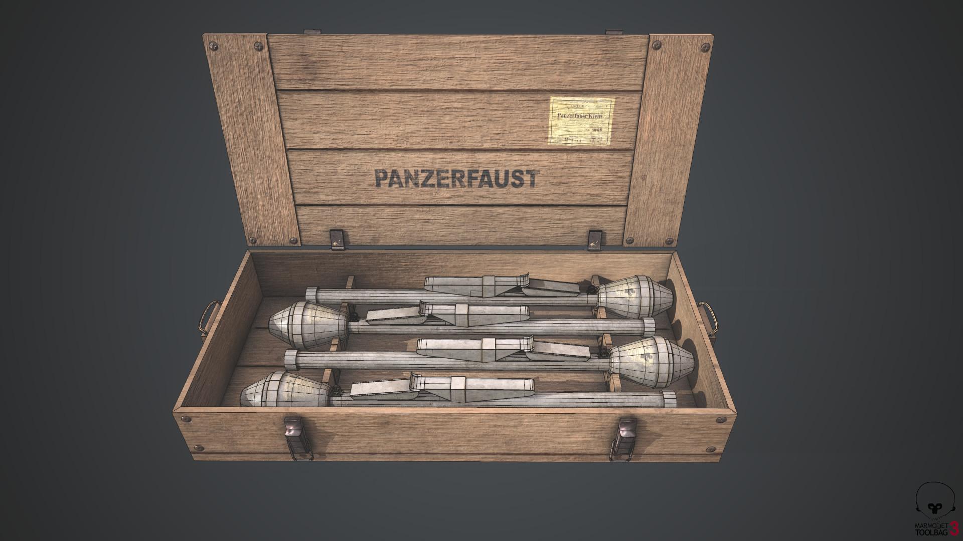 Serdar cendik panzerfaustboxwireframe