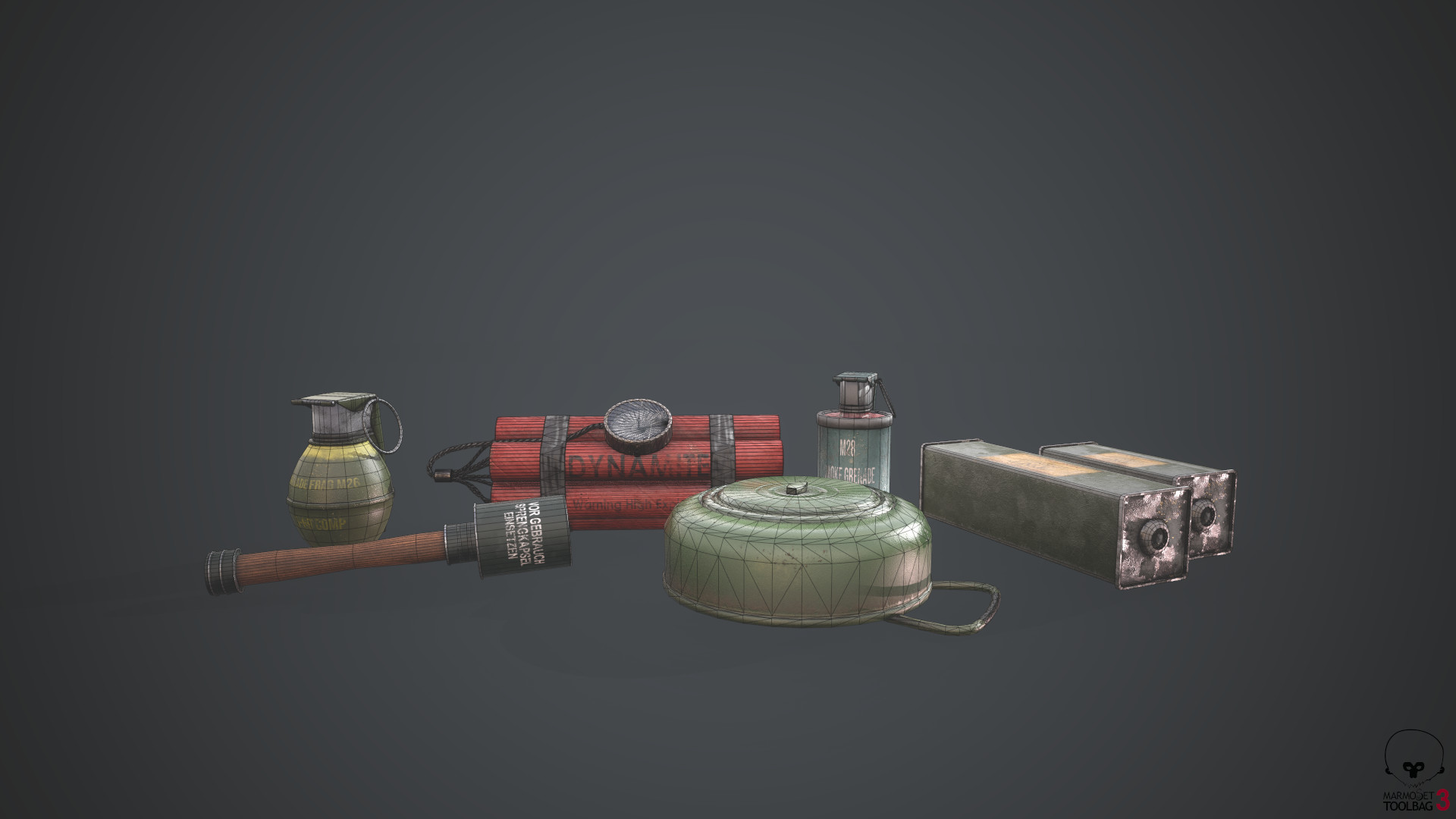 Serdar cendik miniexplosivewireframe