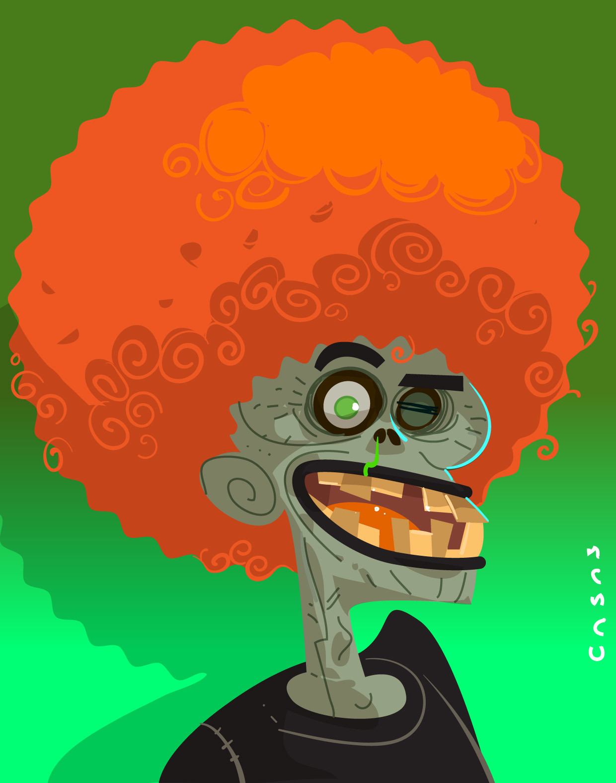 Guillermo casas zombiegroovie 01