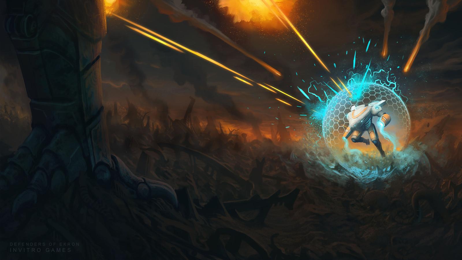Eneas battle concept