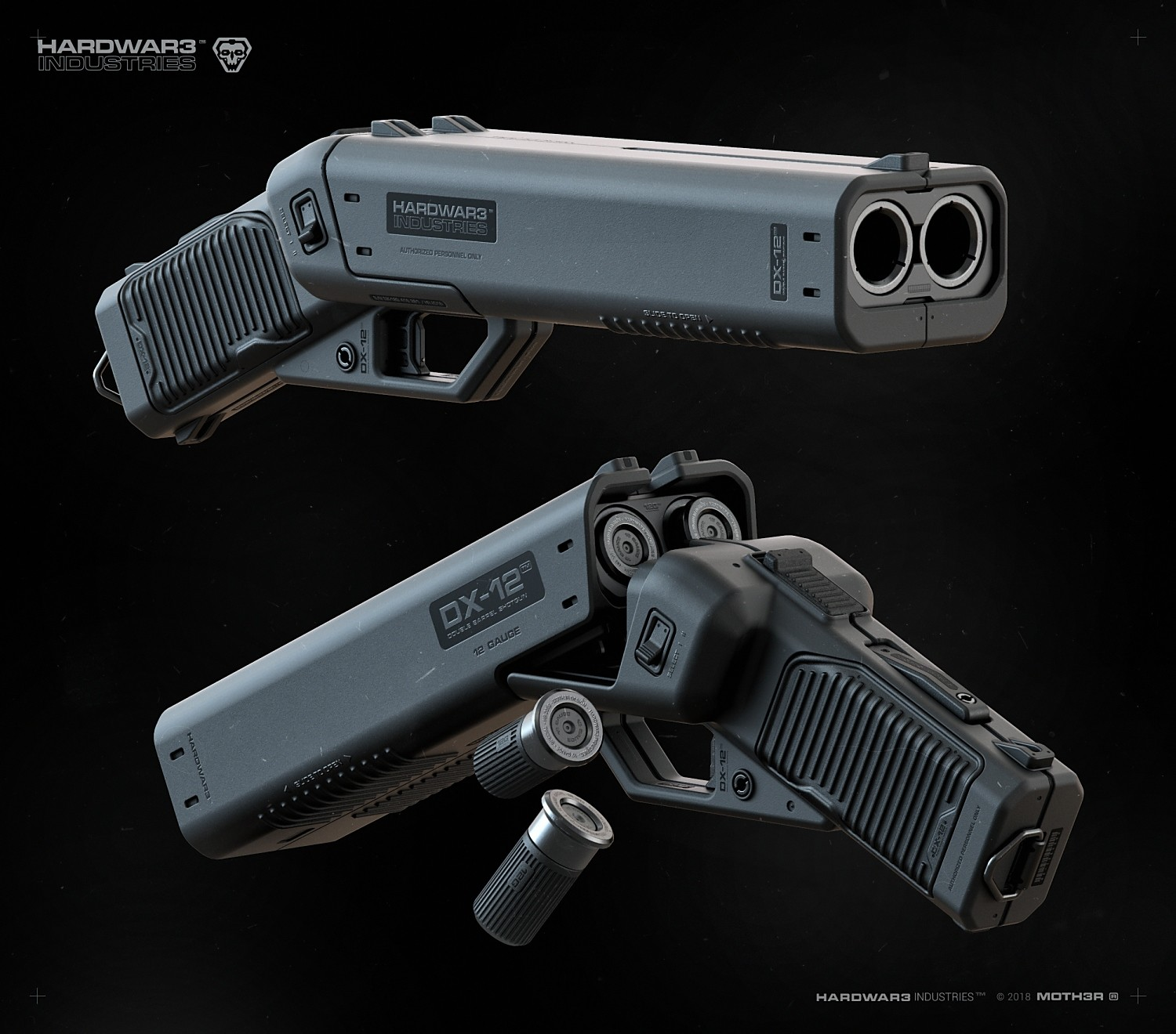 meet the dx 12 punisher shotgun a deadly weapon for all of the
