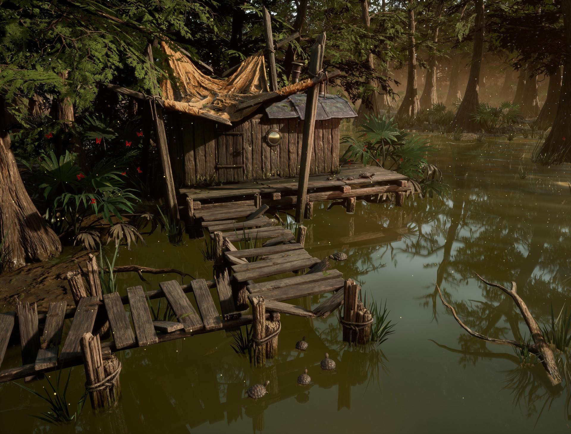 Agnieszka nogalska swamp 1