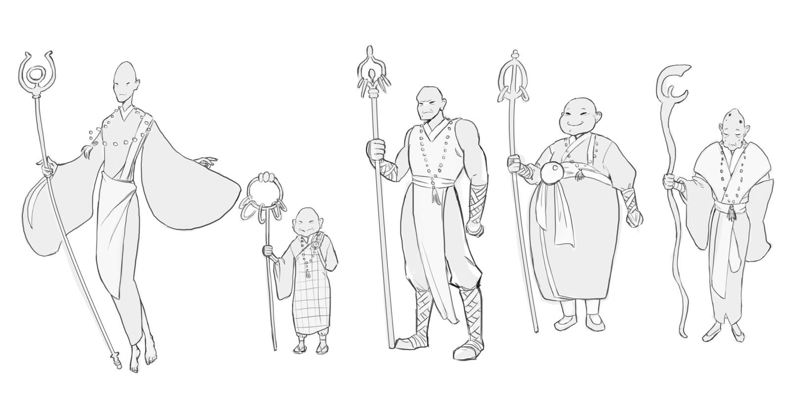 Monk concept
