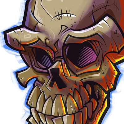 Lou catanzaro skull