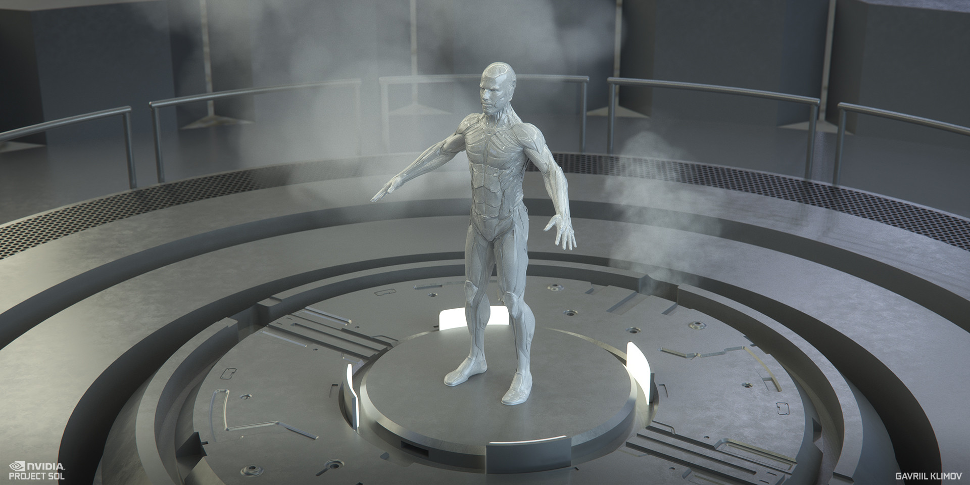 ArtStation - NVIDIA : PROJECT SOL - Art Direction and Design