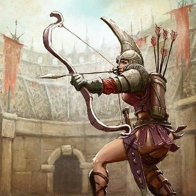 Tomek larek tomek larek archer gladiator