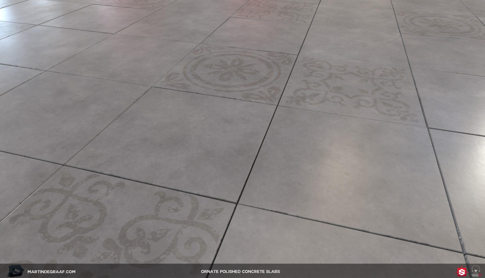 Martin de graaf ornate polished concrete slabs substance plane martin de graaf 2017