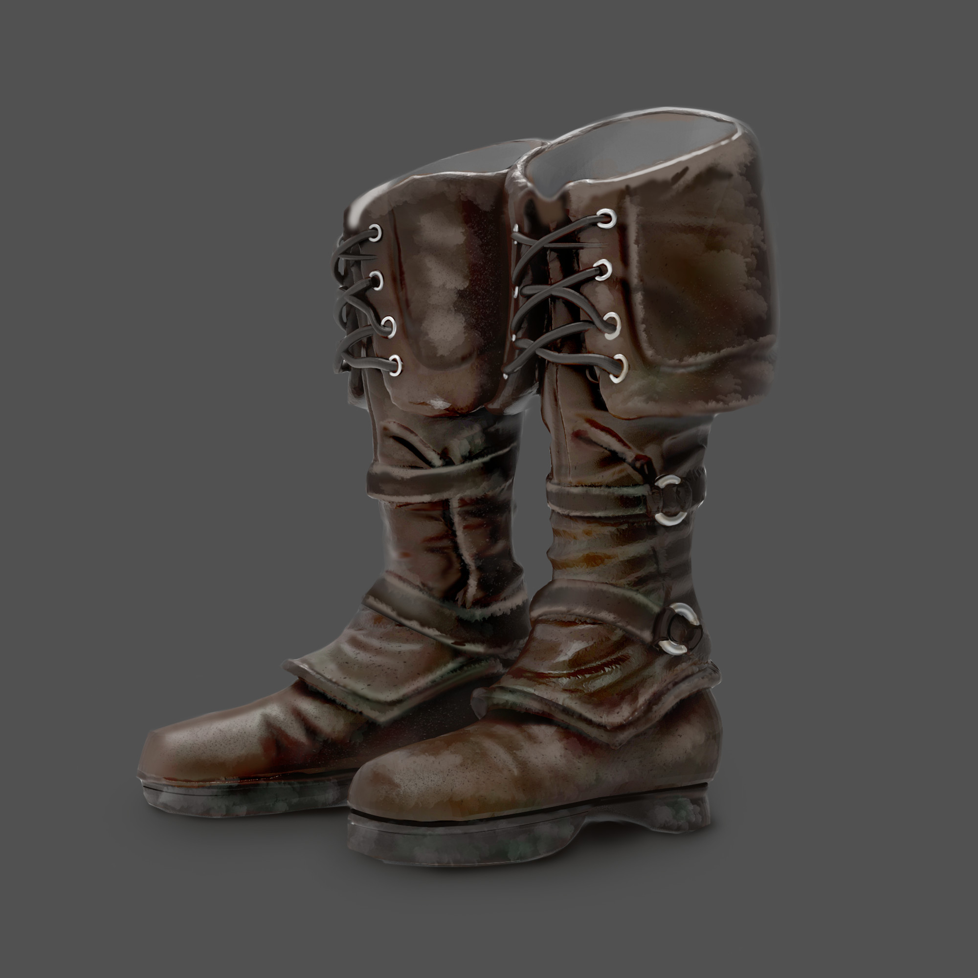 Pretty much ordinary boots, not everything in the world needs to be magical you know?