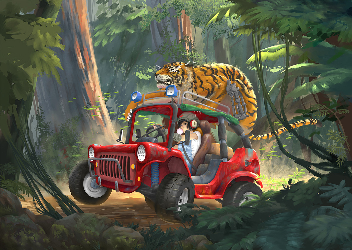 Tan kwang yang tanky no se jungle buggy wip 0013 no se color illustration jungle buggy wip13 jpg