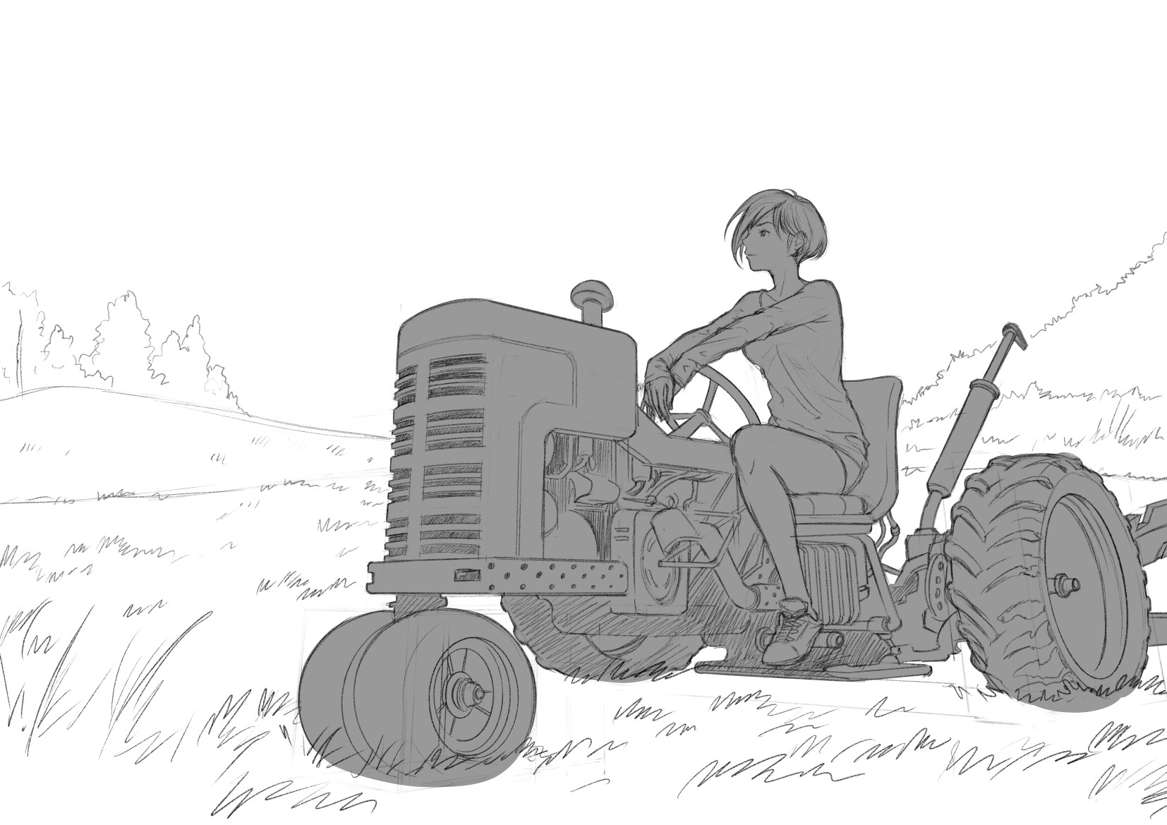 Tan kwang yang tanky tractor girl wip 04