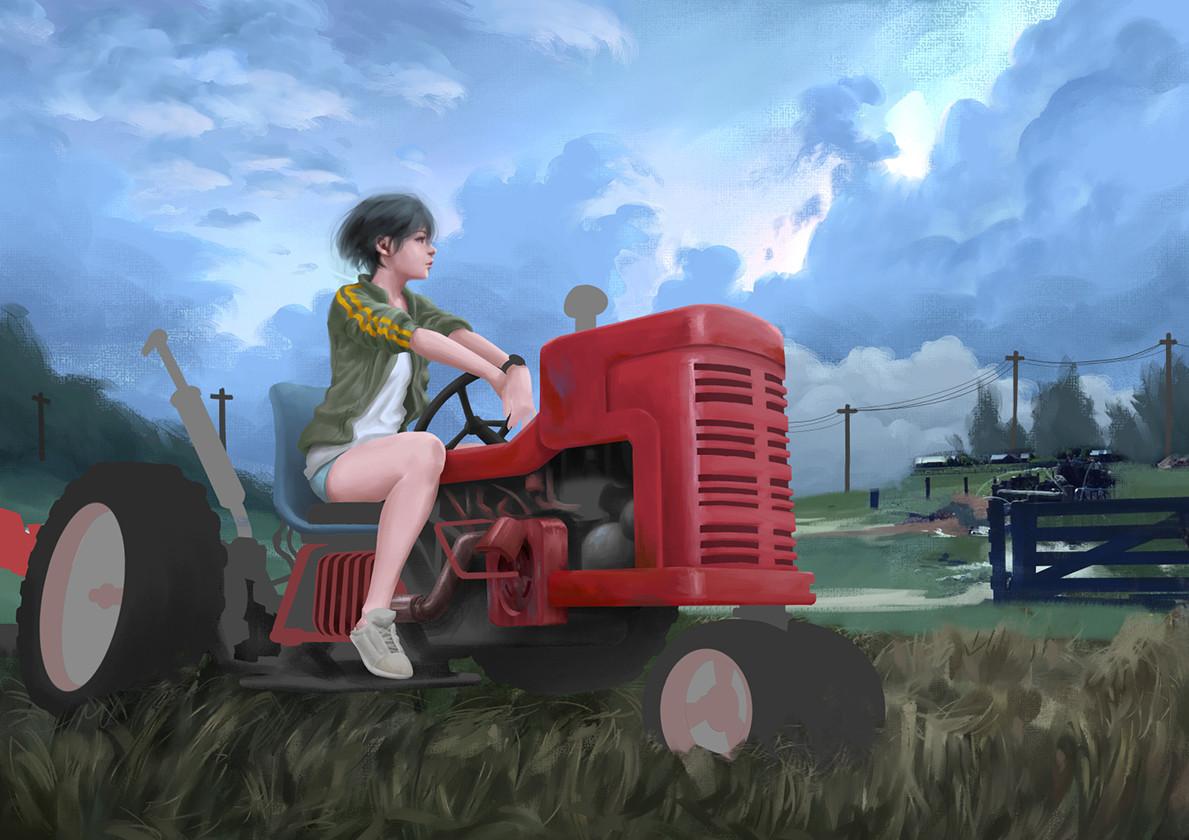 Tan kwang yang tanky tractor girl wip 21