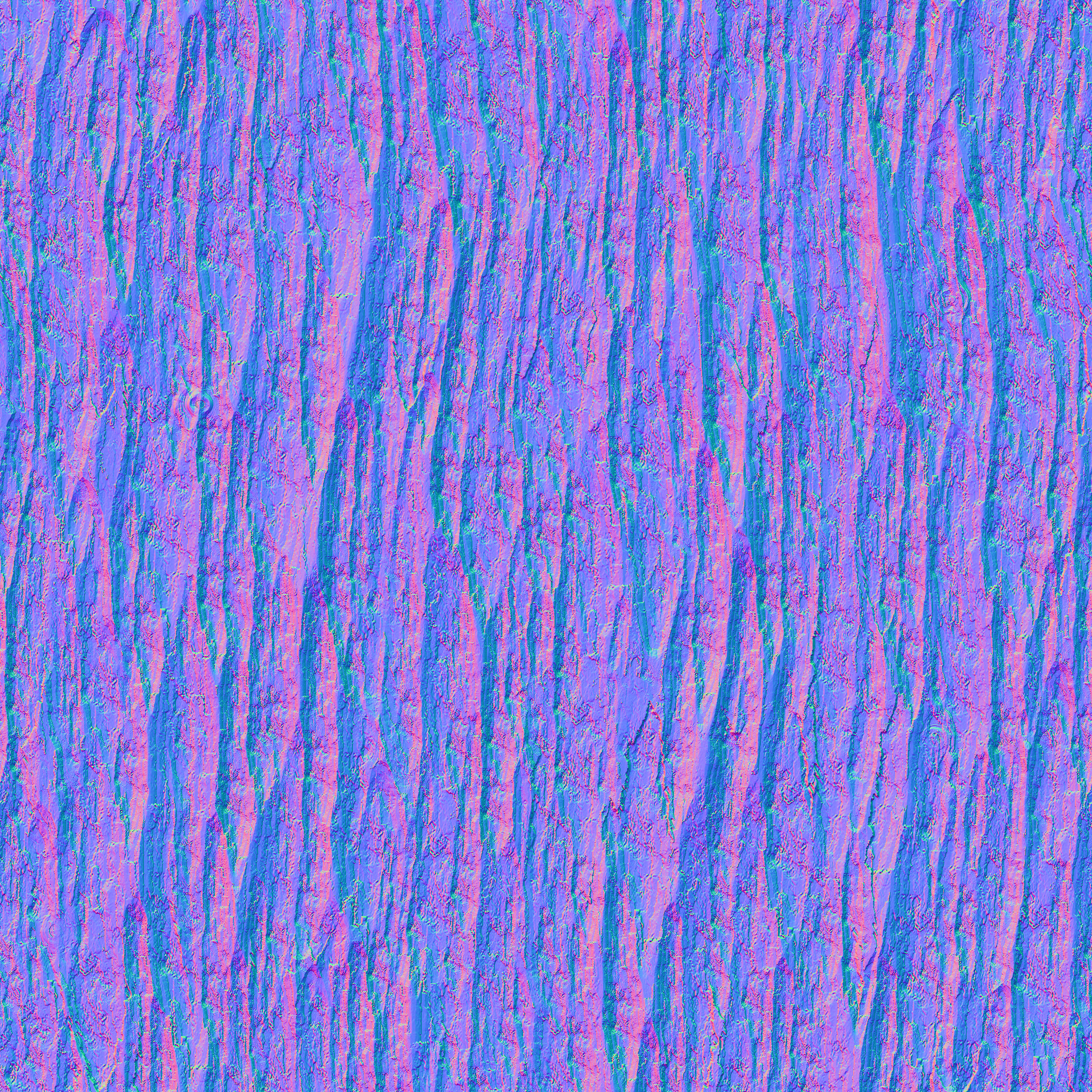 Normal map for the bark