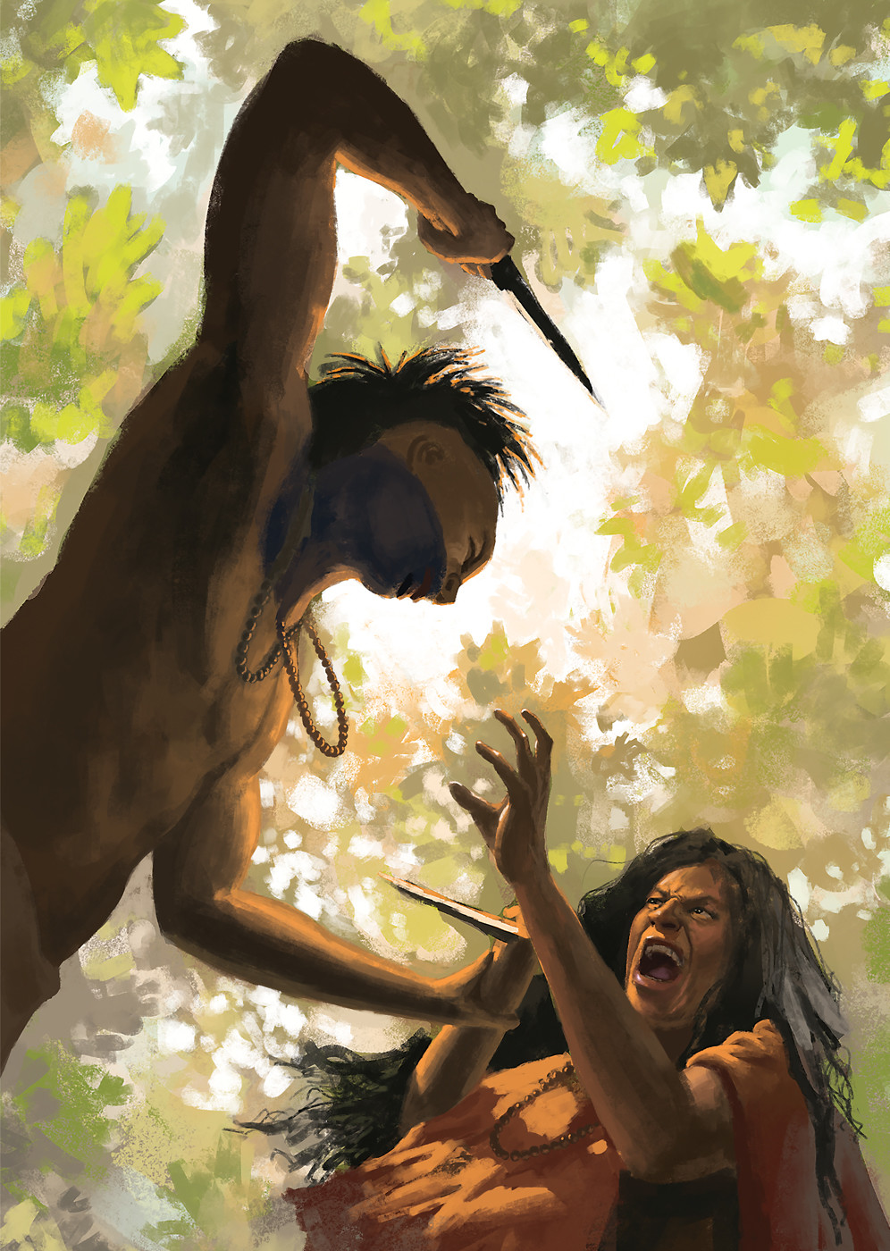 ArtStation - LAST OF THE MOHICANS Book Cover, Yasha Puzankov