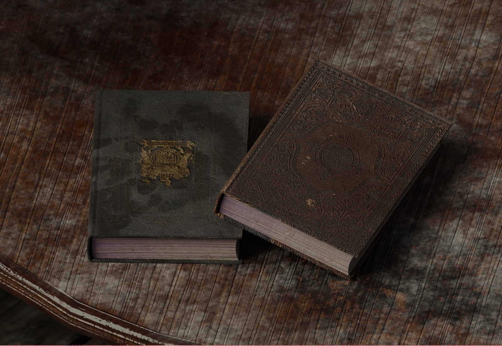 Book Texturing with Blender & SP2