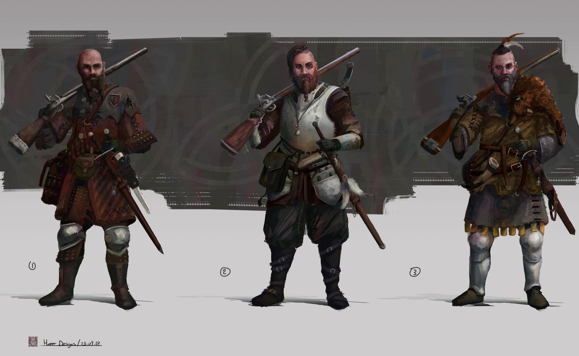 Jack dowell hunter designs colour 2