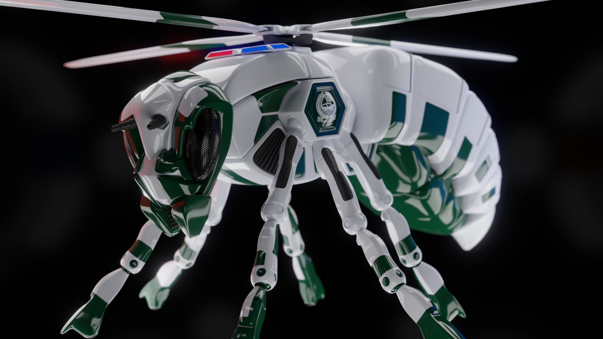 Alexander schmid insect vehicle 45