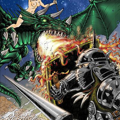 Armando abeleda pet dragon color