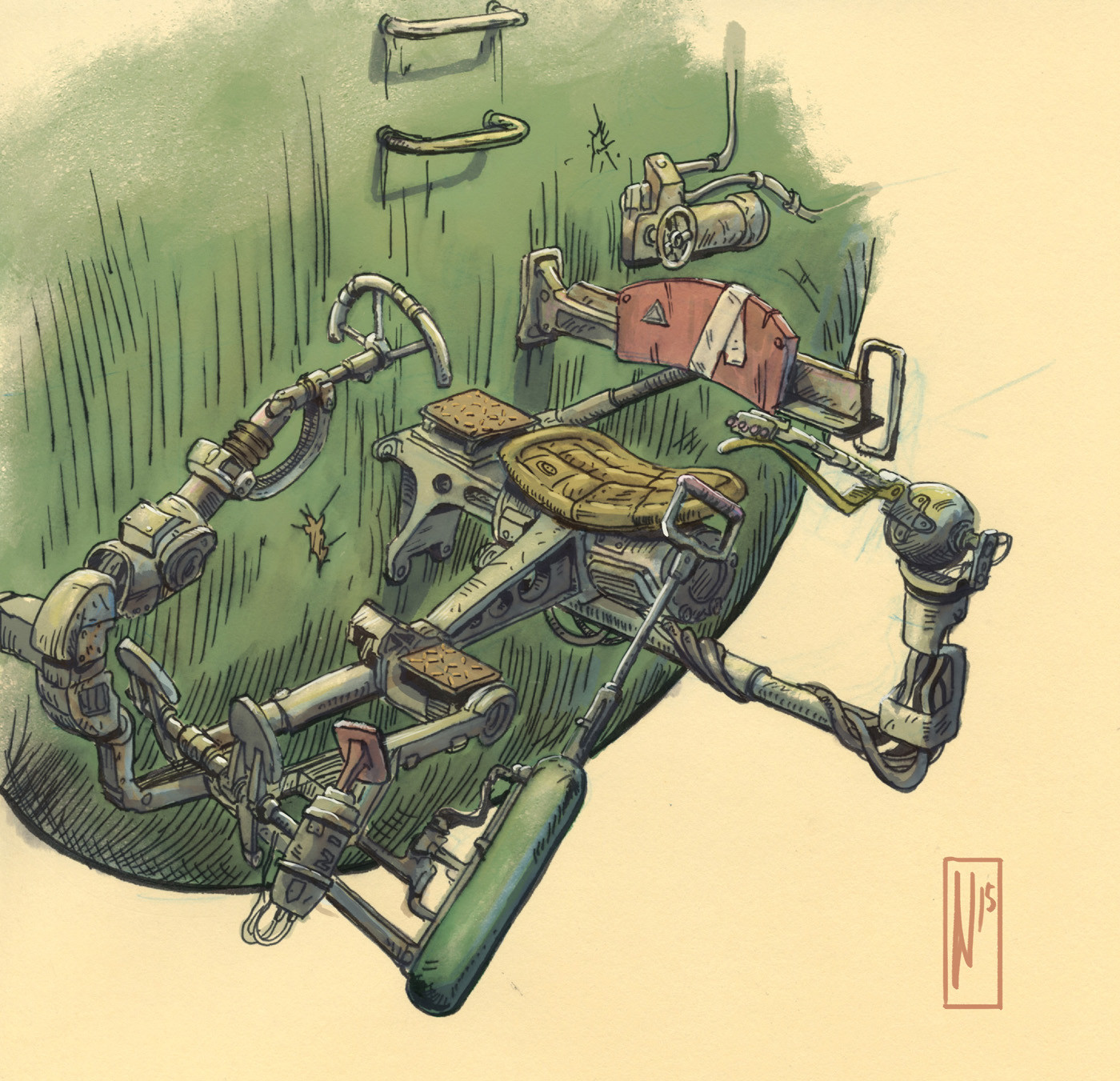 Design for the final cockpit.