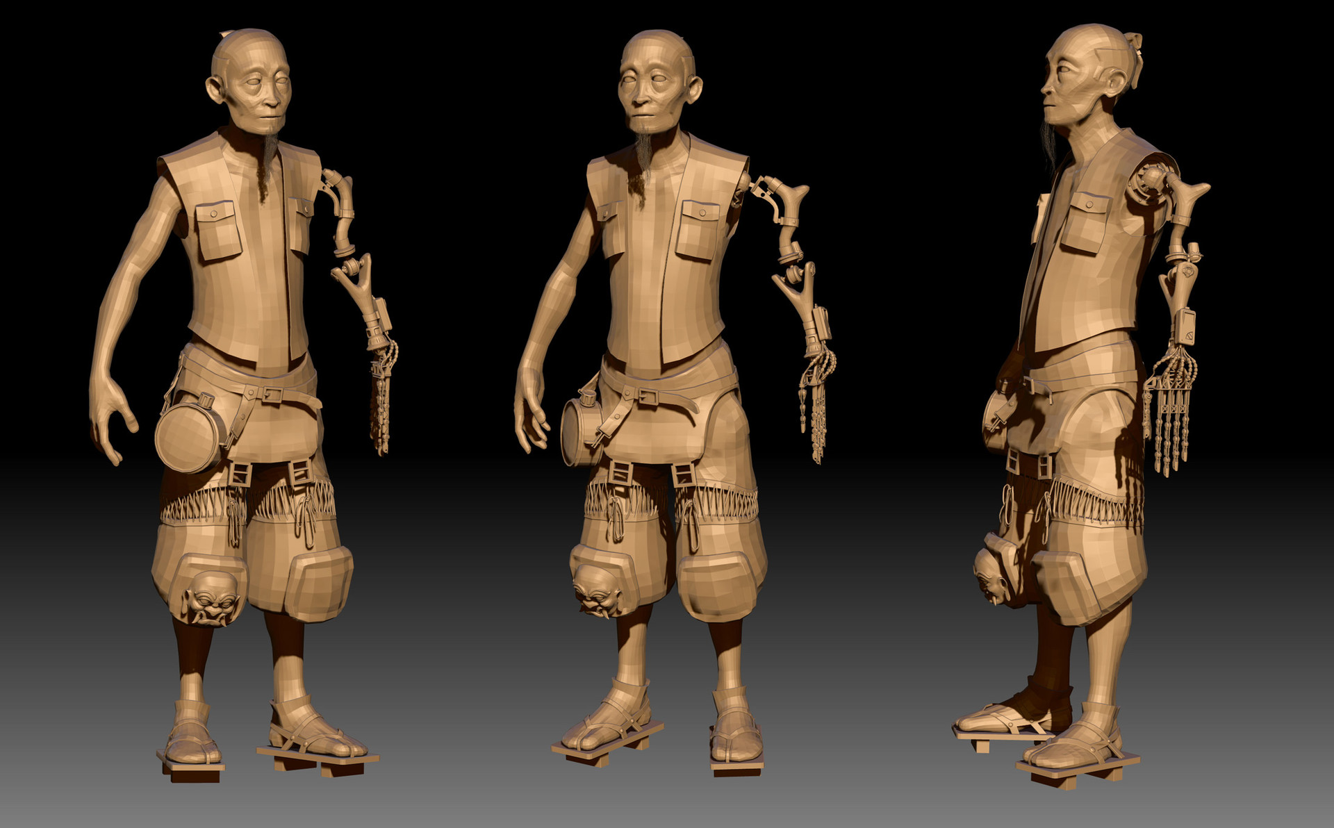 Dirk wachsmuth old dude some wip zbrush