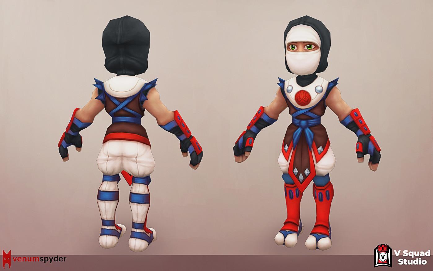 V squx studio ninja 1 4