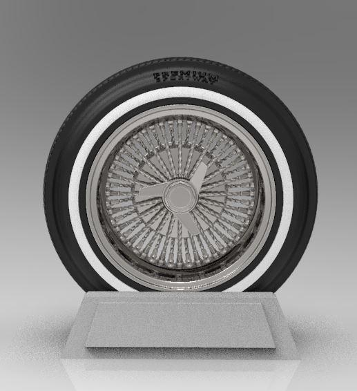 ArtStation - Twisted Wire Wheels, Mike Nagatani