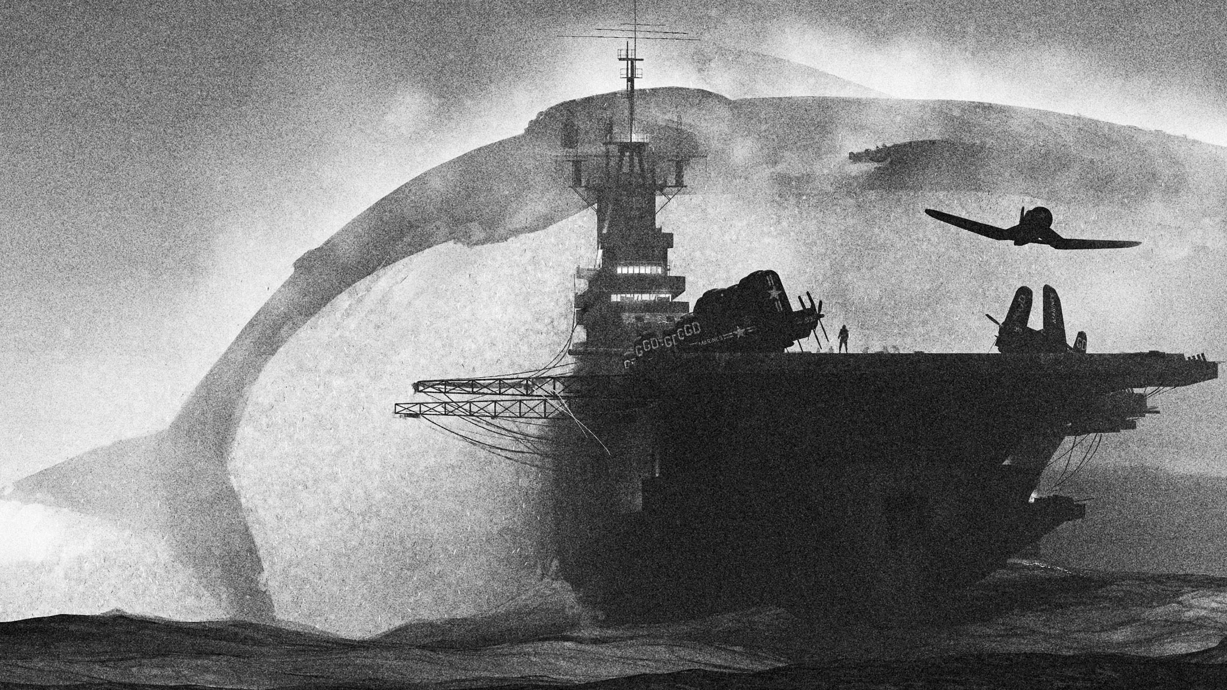 Whale (detail)
