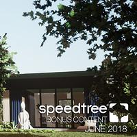 ArtStation - May SpeedTree Bonus Content (Garden Environment), Katly