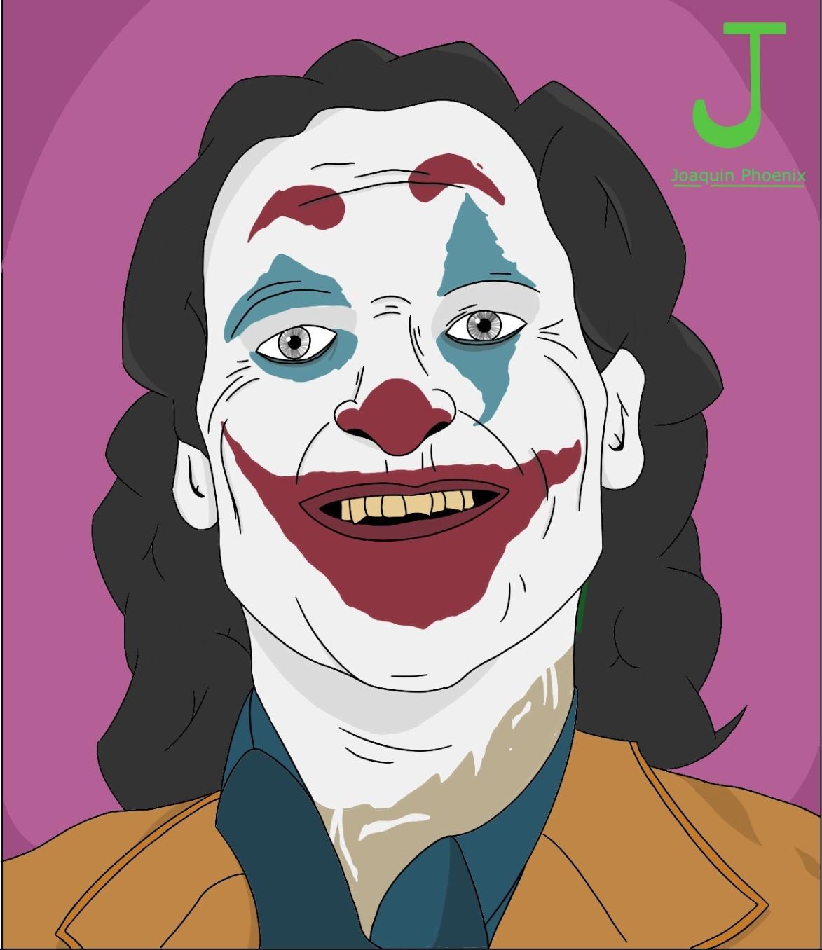 Artstation The Joker Joaquin Phoenix Marin Verspieren