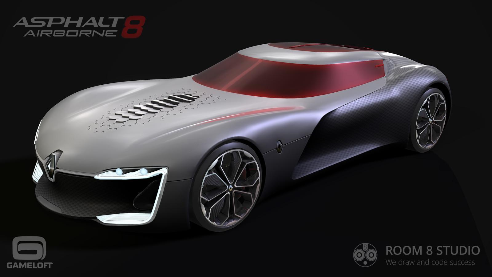Asphalt 8: Renault Trezor 3D model