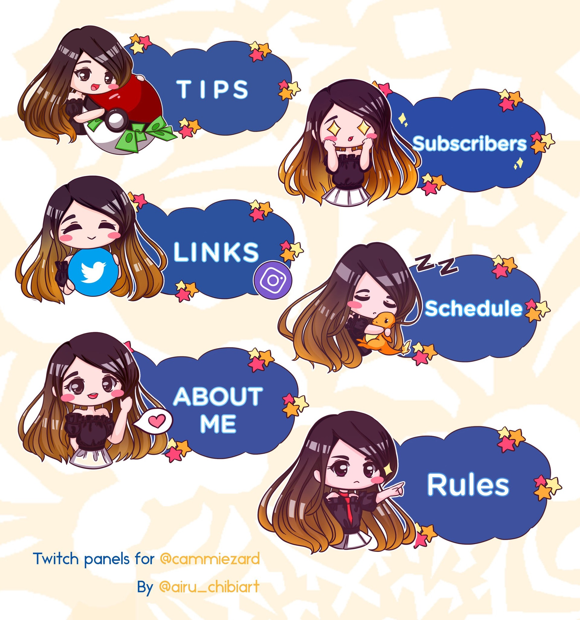 Anime twitch panels   Free Twitch Banner Maker: Create Custom Twitch